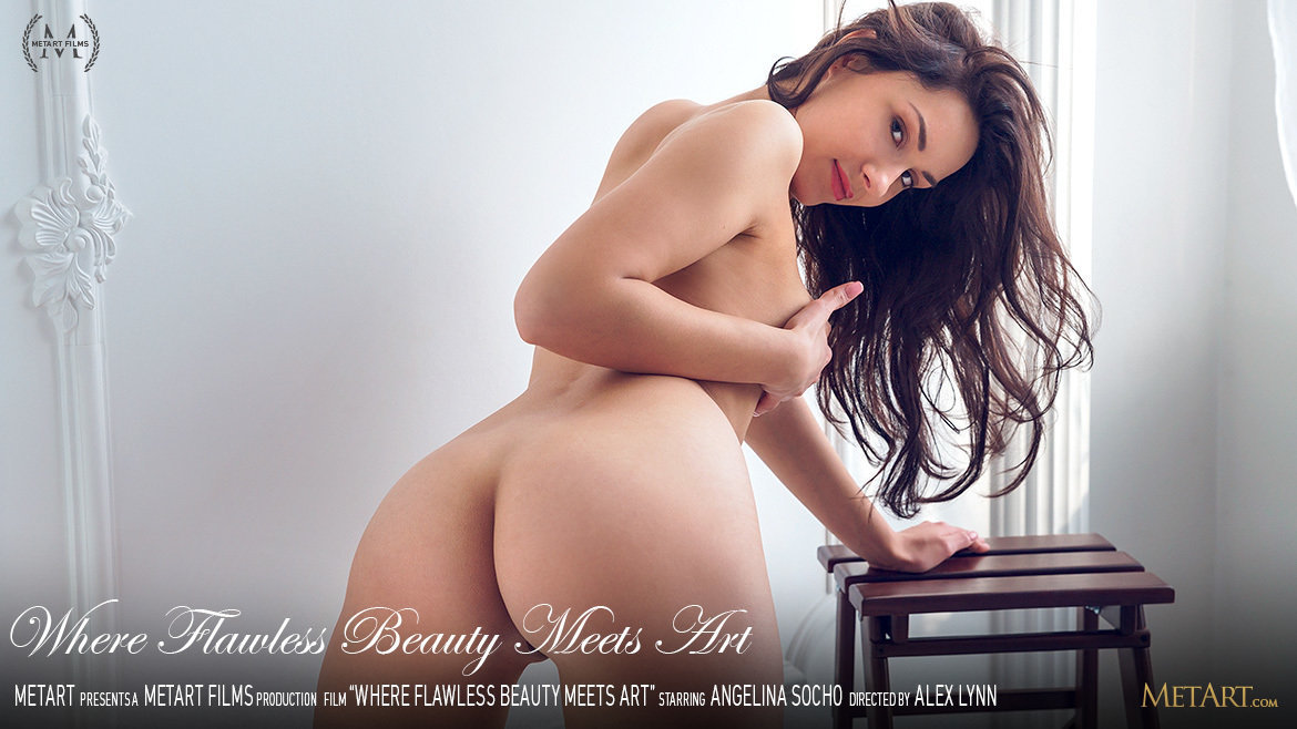 1080p Video Where Flawless Beauty Meets Art - Angelina Socho MetArt celestial peeled attractive large boobs