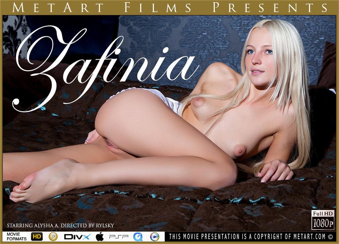 1080p Video Zafinia - Alysha A MetArt stunning undressed small naturaltits
