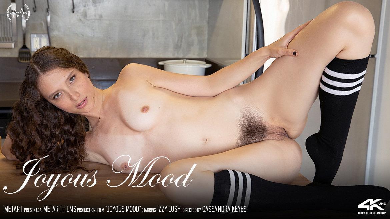 Full HD Video Joyous Mood - Izzy Lush MetArt stunning prurient