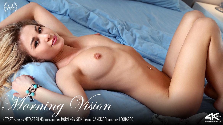 Full HD Video Morning Vision - Candice B MetArt au naturel large breasts