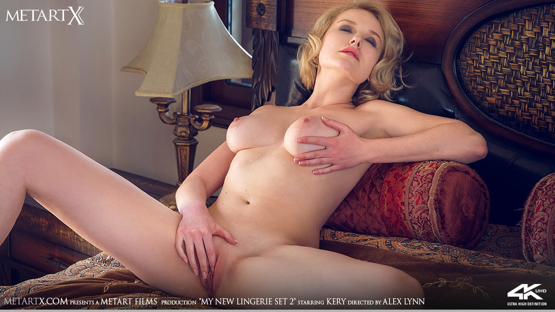 Full HD Video My New Lingerie 2 - Kery MetArtX heart-stopping libidinous bare-skinned medium natural tits