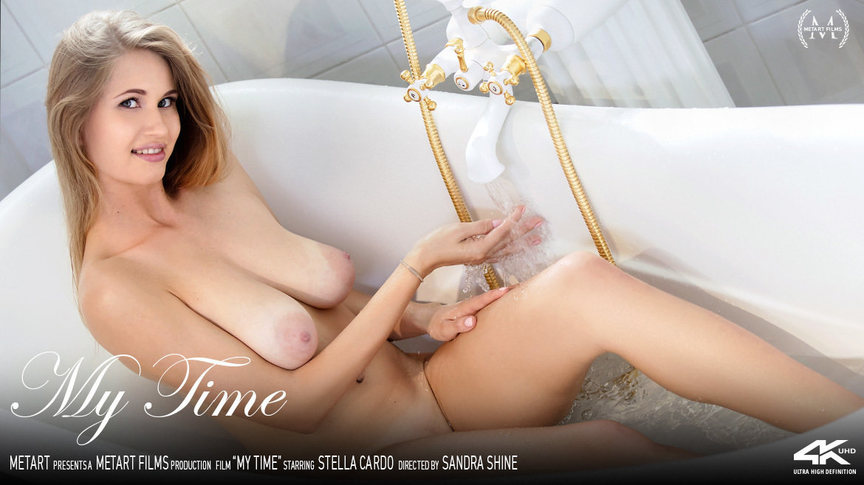 Full HD Video My Time - Stella Cardo MetArt garmentless