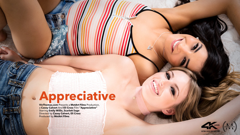 Full HD Video Porn Appreciative - Emily Willis & Scarlett Sage VivThomas marvelous lecherous kissable