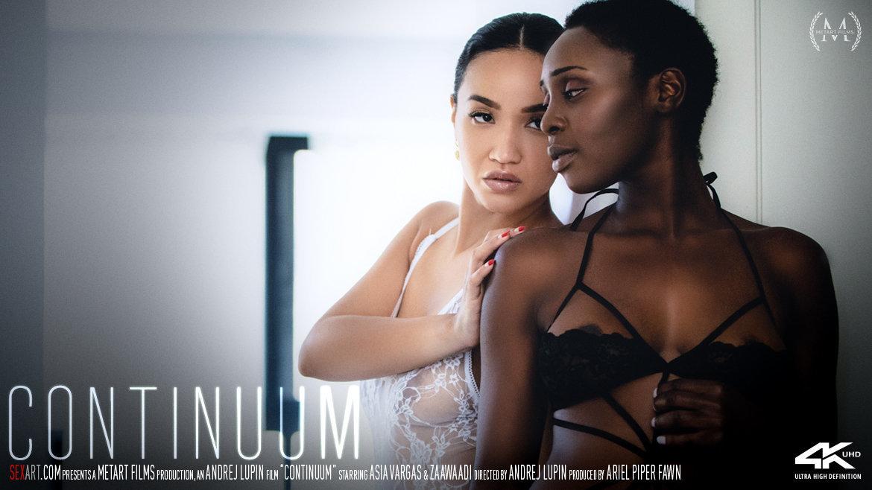 Full HD Video Porn Continuum - Asia Vargas & Zaawaadi SexArt heart-stirring prurient lewd