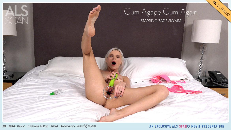 Full HD Video Porn Cum Agape Cum Again - Zazie Skymm AlsScan empyrean impassioned disrobed