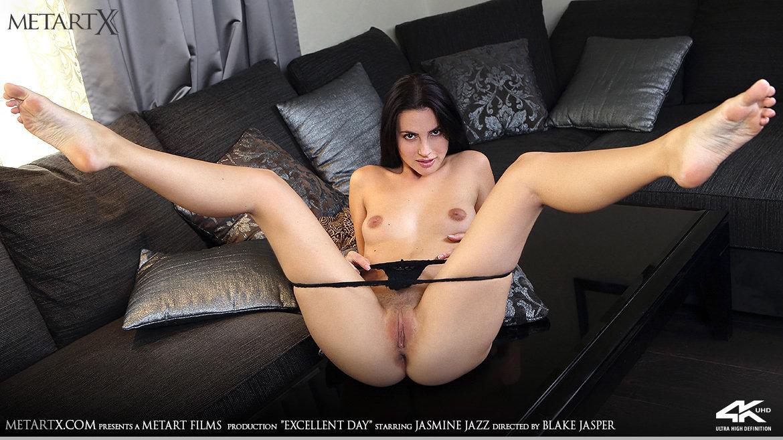 Full HD Video Porn Excellent Day - Jasmine Jazz MetArtX in one-s skin flirtatious amatory medium tits