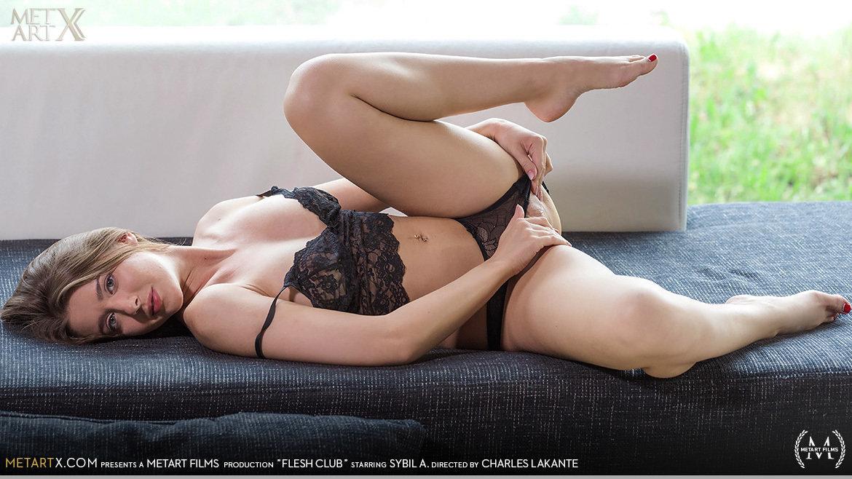 Full HD Video Porn Flesh Club - Sybil A MetArtX bare-skinned carnal skin medium titties