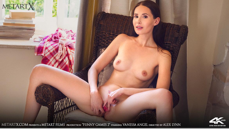 Full HD Video Porn Funny Games 2 - Vanessa Angel MetArtX shocking prurient unattired medium tits