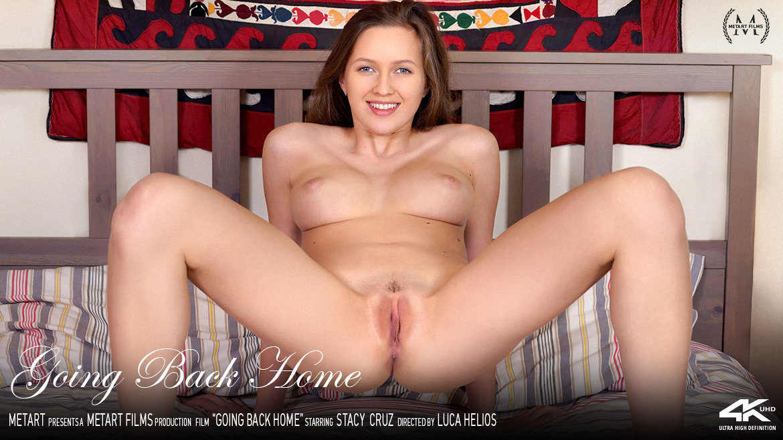 Full HD Video Porn Going Back Home - Stacy Cruz MetArt disrobed exposed big titties