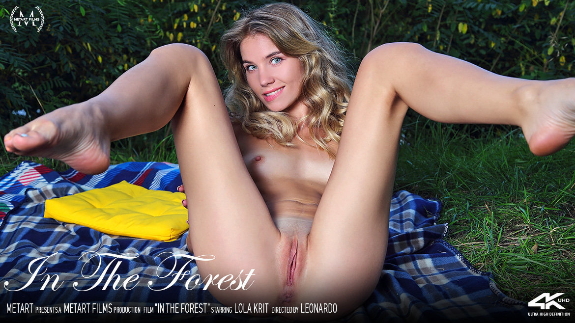 Full HD Video Porn In The Forest - Lola Krit MetArt awe-inspiring sexual small naturaltitties