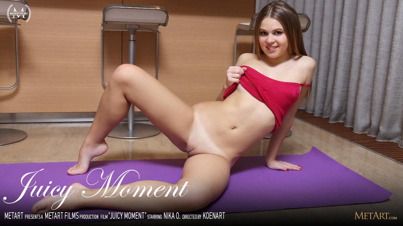 Full HD Video Porn Juicy Moment - Nika O MetArt heavenly raunchy amorous medium titties