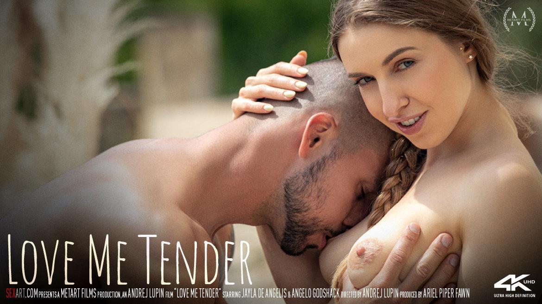 Full HD Video Porn Love Me Tender - Jayla De Angelis & Angelo Godshack SexArt undraped sexy lewd