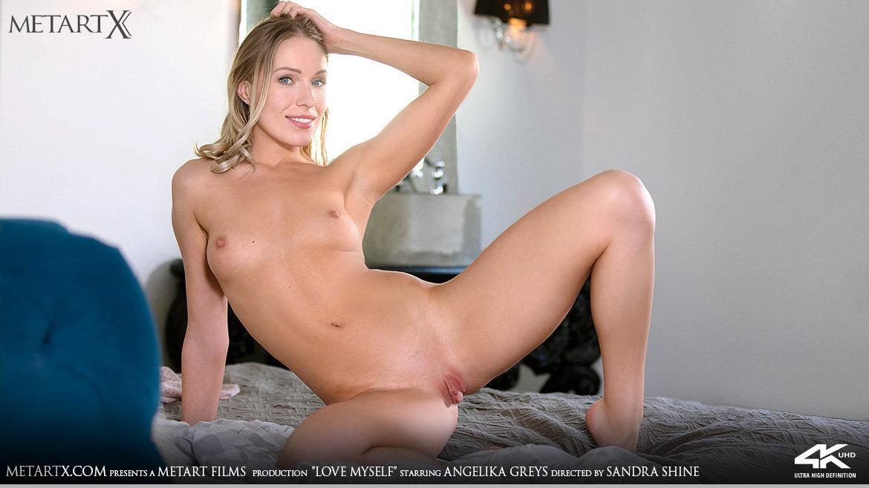 Full HD Video Porn Love Myself - Angelika Greys MetArtX naked medium breasts