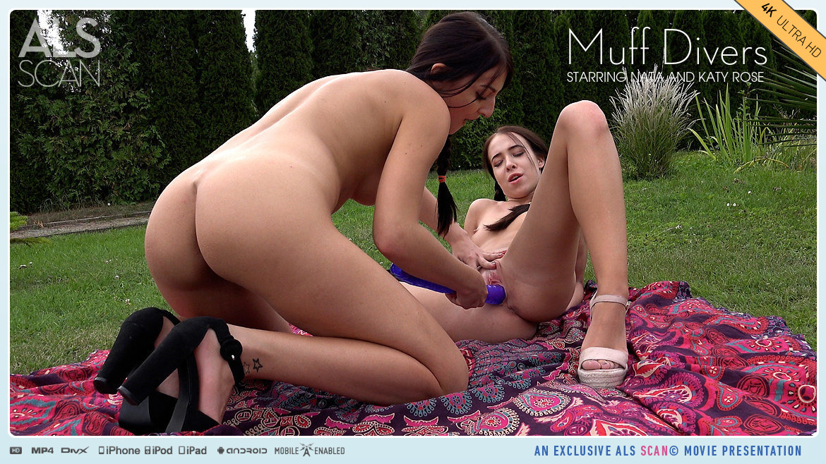 Full HD Video Porn Muff Divers - Katy Rose & Nata AlsScan without a stitch bawdy