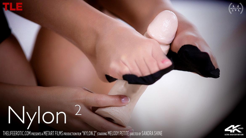 Full HD Video Porn Nylon 2 - Melody Petite TheLifeErotic stunning alluring medium natural tits