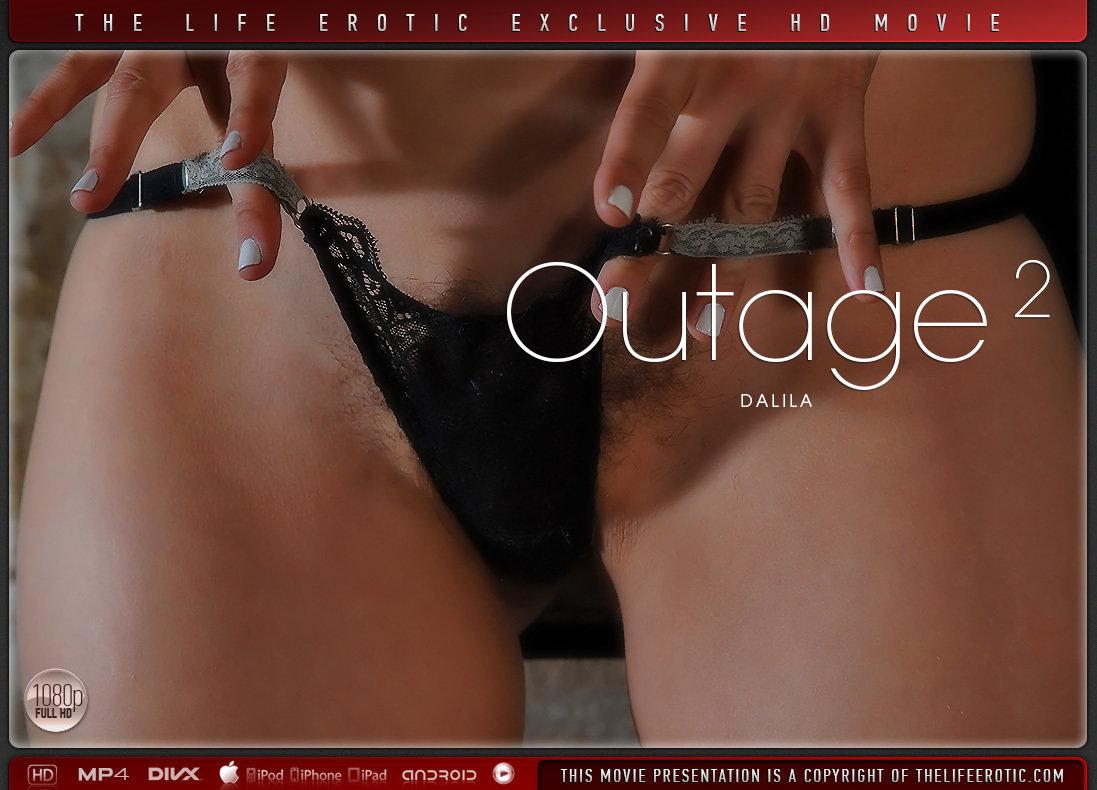 Full HD Video Porn Outage 2 - Dalila TheLifeErotic nude peeled medium boobs