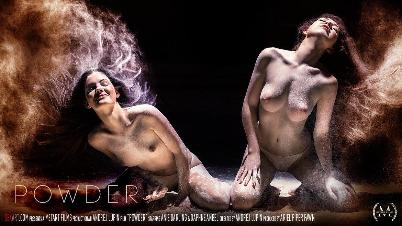Full HD Video Porn Powder - Anie Darling & Daphne Anbel SexArt unclad raunchy inviting