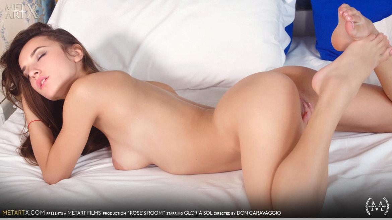 Full HD Video Porn Rose's Room - Gloria Sol MetArtX beautiful lewd medium natural titties