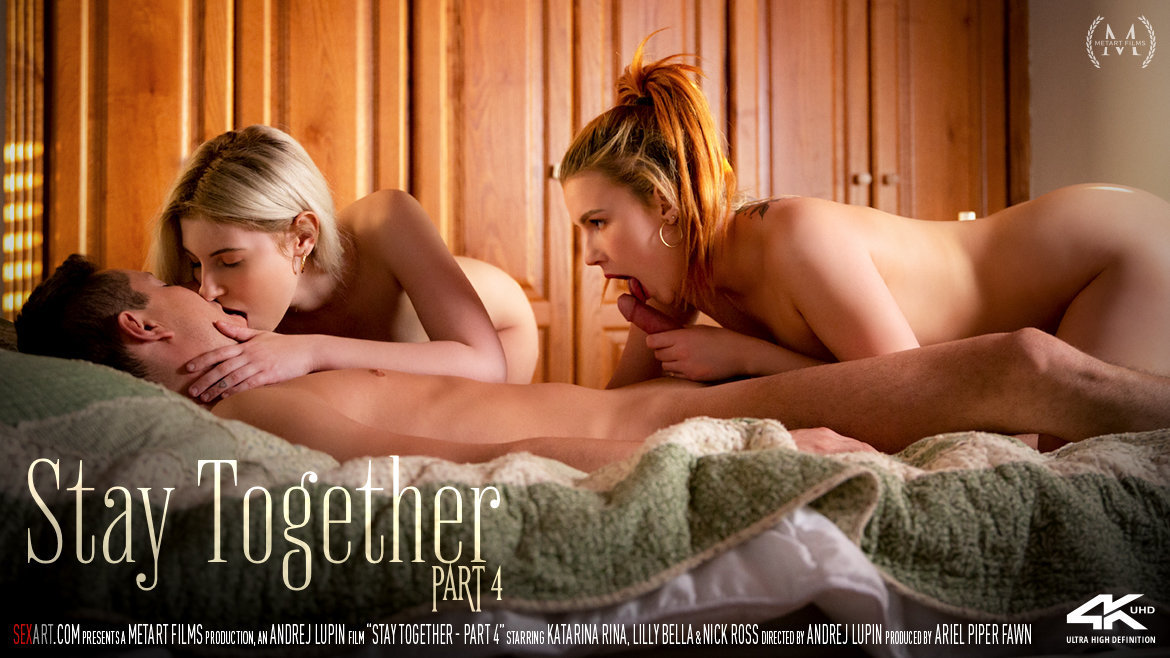 Full HD Video Porn Stay Together Part 4 - Katarina Rina & Lilly Bella & Nick Ross SexArt overwhelming prurient fabulous