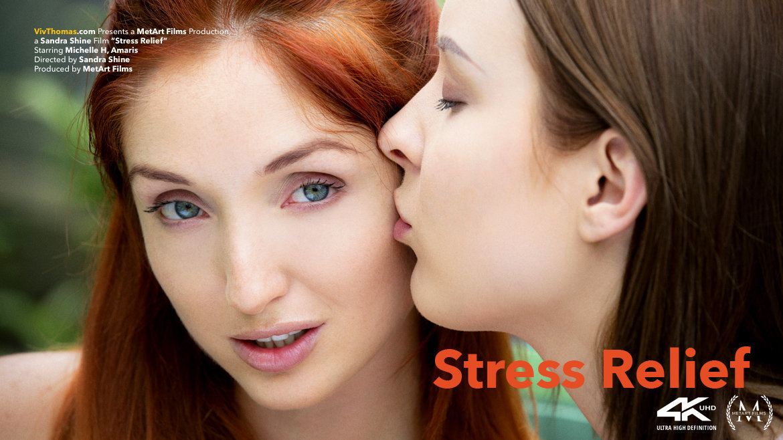 Full HD Video Porn Stress Relief - Amaris & Michelle H VivThomas exposed