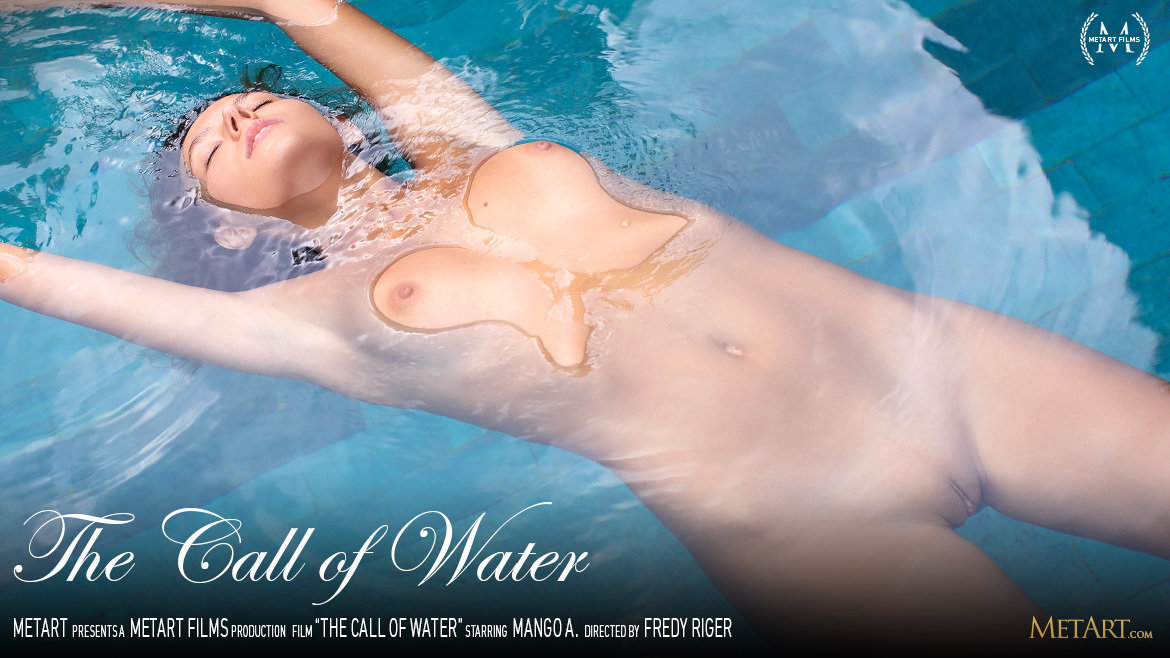 Full HD Video Porn The Call of Water - Mango A MetArt unclothed nude medium tits