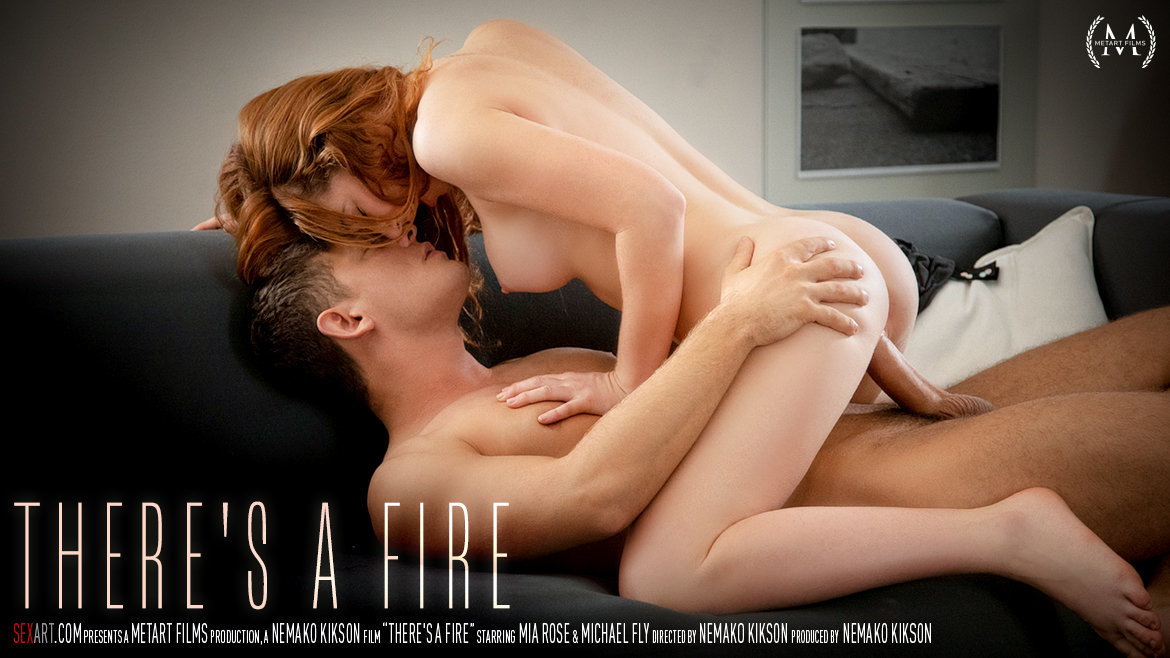 Full HD Video Porn There's A Fire - Mia Rose & Michael Fly SexArt undraped salacious