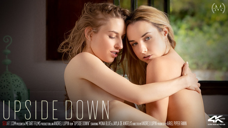 Full HD Video Porn Upside Down - Jayla De Angelis & Mona Blue SexArt bald erogenous carnal