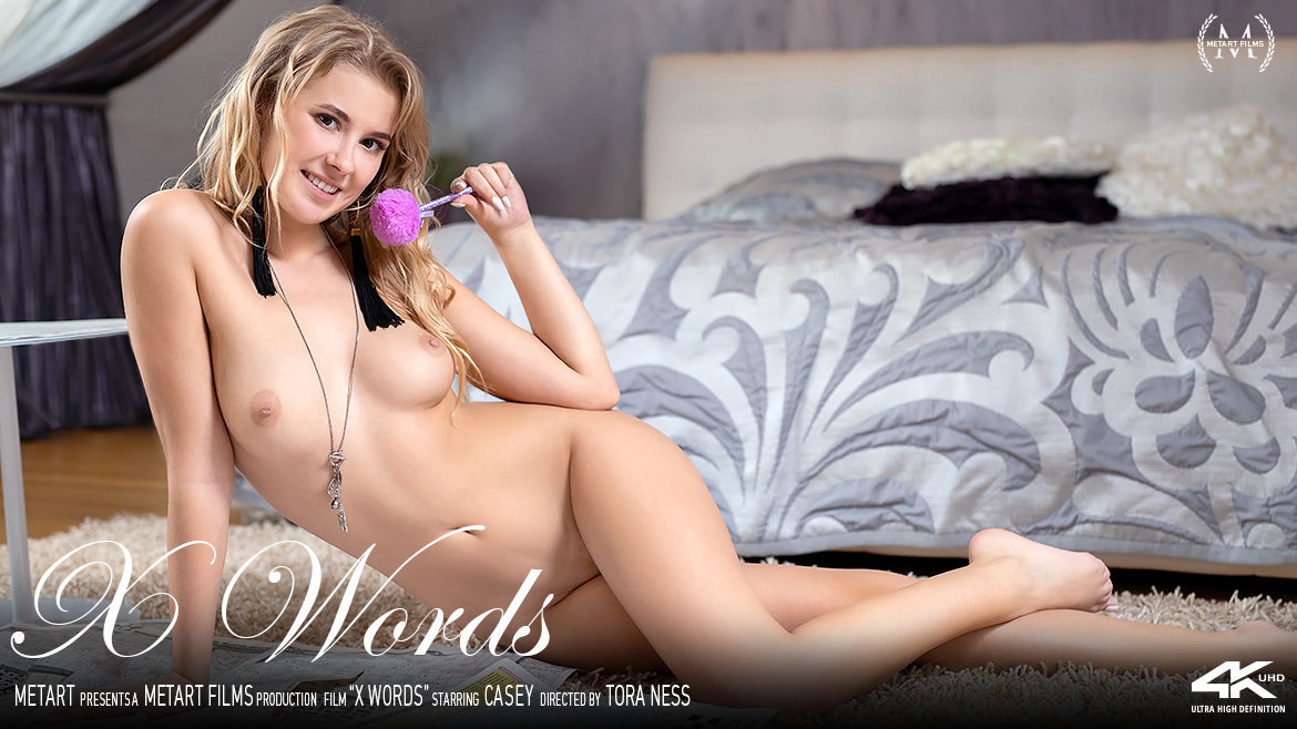 Full HD Video Porn X Words - Casey MetArt stripped unclothed small naturaltits