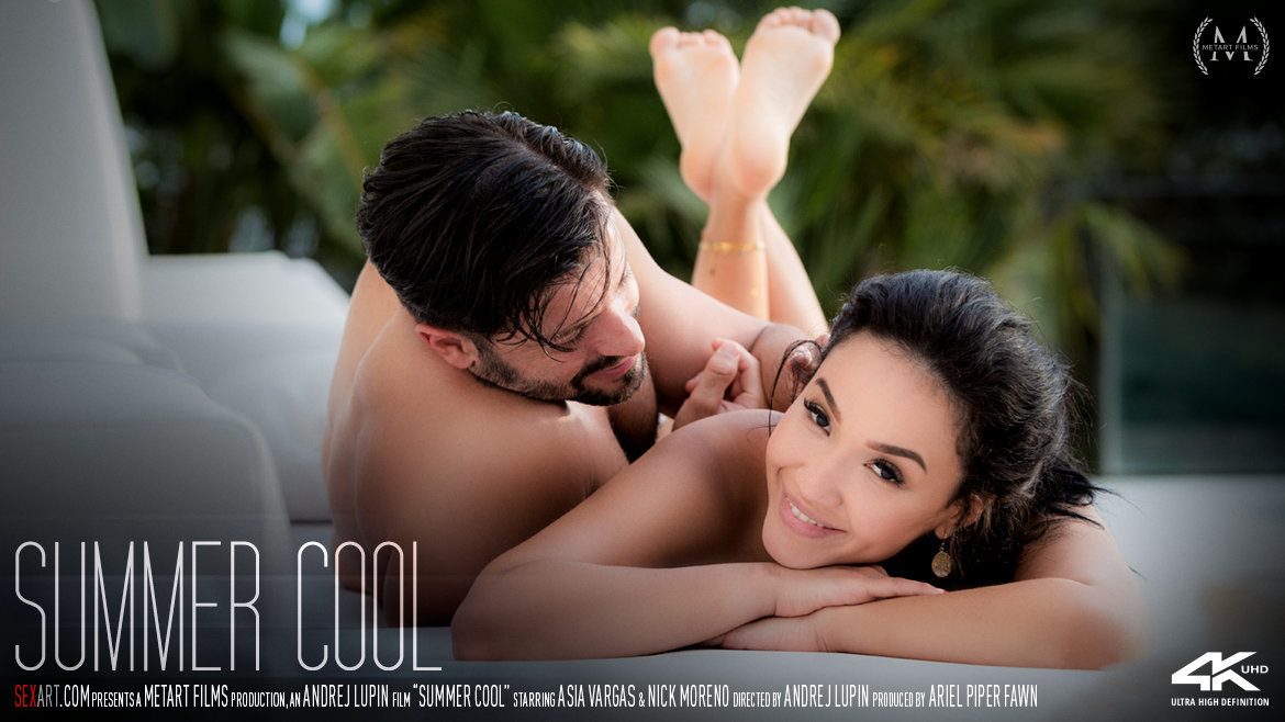 Full HD Video Summer Cool - Asia Vargas & Nick Moreno SexArt unclothed stark-naked