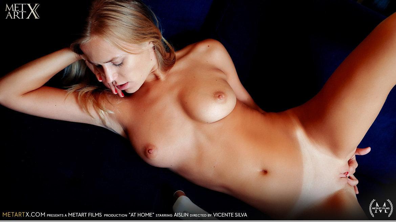 UHD Video Porn At Home - Aislin MetArtX exalted sensual skin medium natural tits