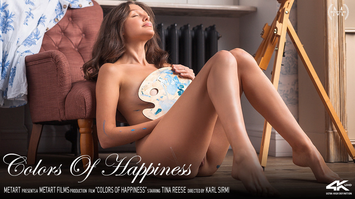UHD Video Porn Colors Of Happiness - Tina Reese MetArt astonishing concupiscent rousing