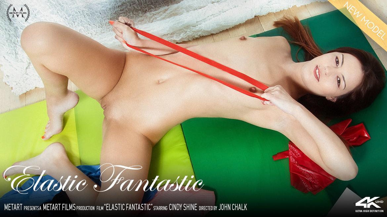 UHD Video Porn Elastic Fantastic - Cindy Shine MetArt unbelievable erotic amazing medium natural breasts