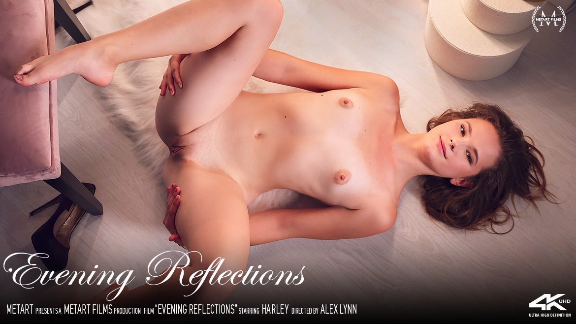 UHD Video Porn Evening Reflections - Harley MetArt amazing libidinous