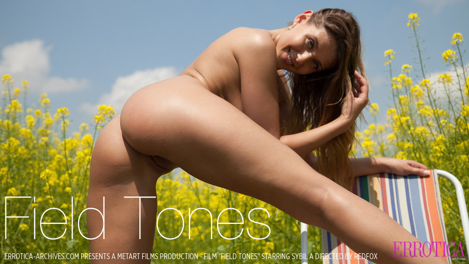 UHD Video Porn Field Tones - Sybil A ErroticaArchives stunning sexual medium natural titties