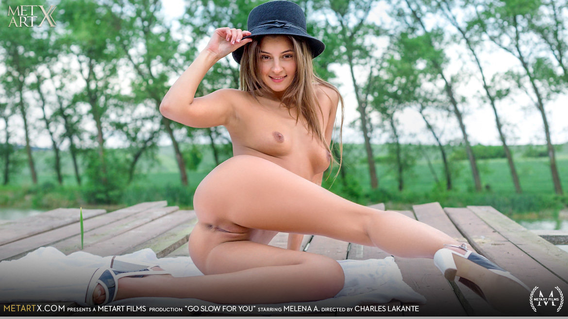 UHD Video Porn Go Slow For You - Melena A MetArtX spectacular sexual naked small breasts