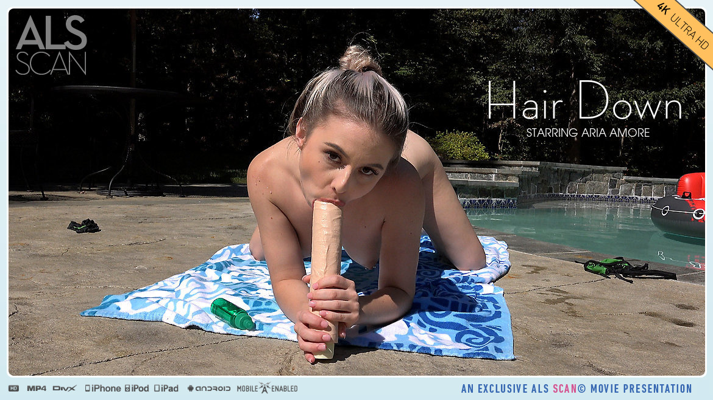 UHD Video Porn Hair Down - Aria Amore AlsScan spectacular libidinous marvelous