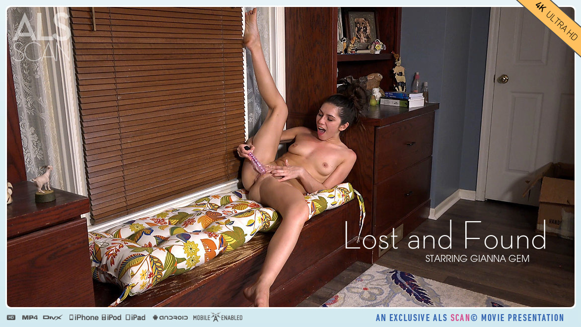 UHD Video Porn Lost and Found - Gianna Gem AlsScan stupendous concupiscent