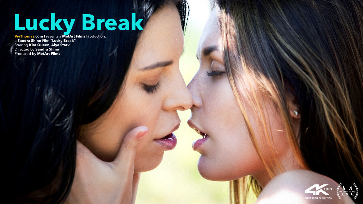 UHD Video Porn Lucky Break - Alya Stark & Kira Queen VivThomas lofty salacious sexual