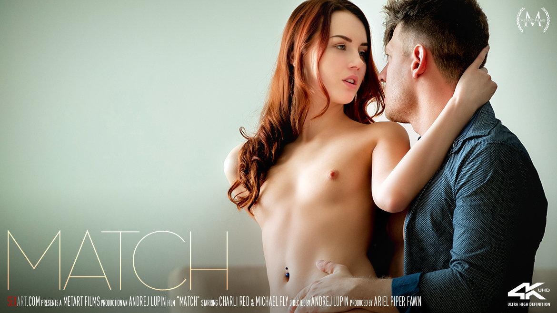 UHD Video Porn Match - Charli Red & Michael Fly SexArt astonishing bawdy