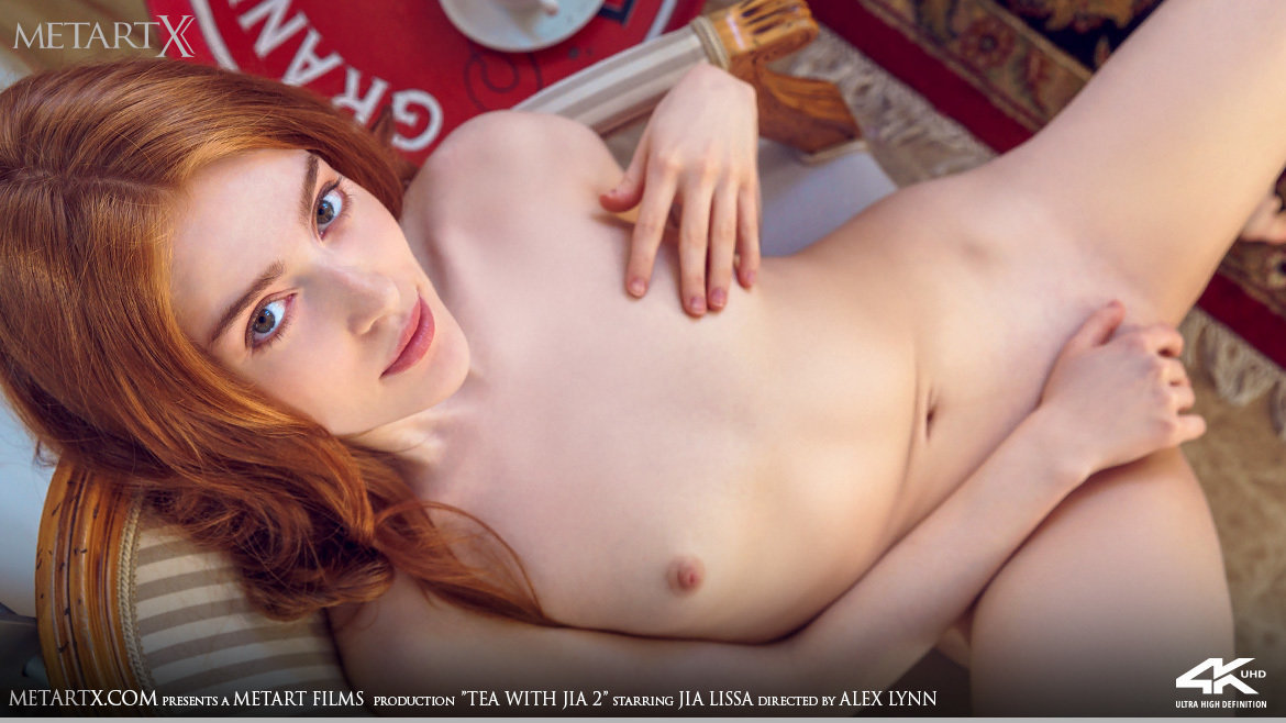 UHD Video Porn Tea With Jia 2 - Jia Lissa MetArtX magnificent lewd small naturaltitties