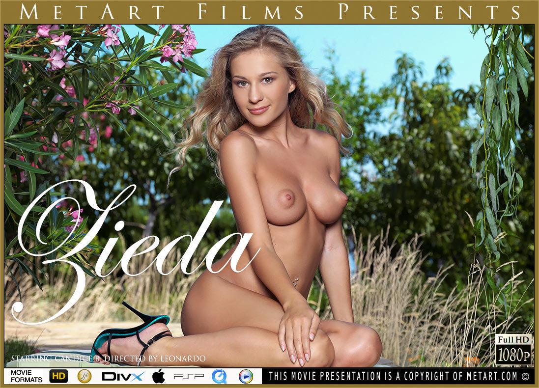 UHD Video Porn Zieda - Candice B MetArt astounding salacious large breasts