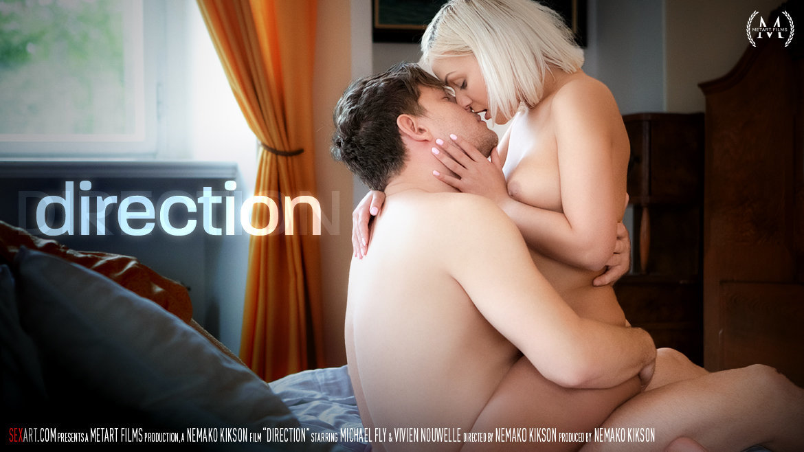 Video Porn Direction - Vivien Nouwelle & Michael Fly SexArt unattired wearing only a smile