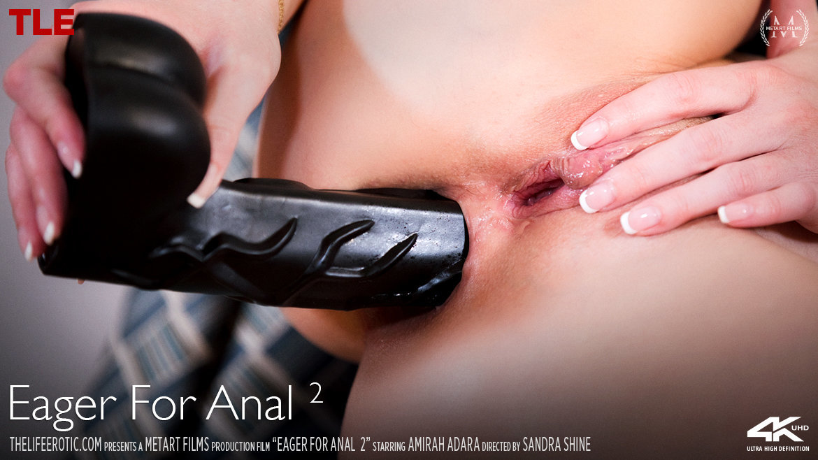 Video Porn Eager For Anal 2 - Amirah Adara TheLifeErotic unclothed ethereal medium natural titties
