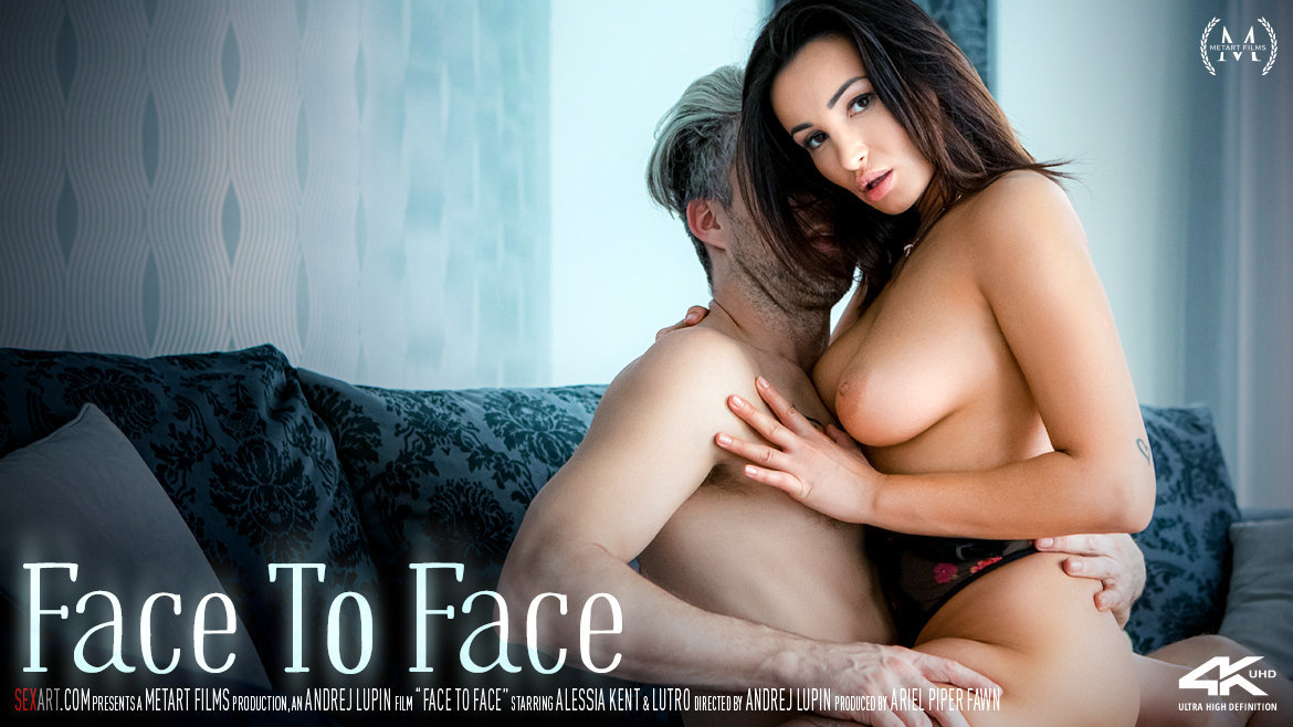 Video Porn Face To Face - Alessia Kent & Lutro SexArt bare