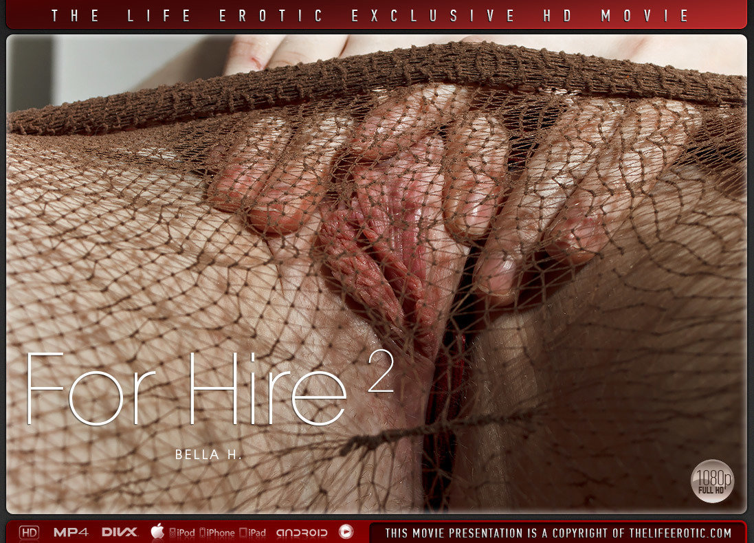 Video Porn For Hire 2 - Bella H TheLifeErotic undraped raunchy medium natural breasts