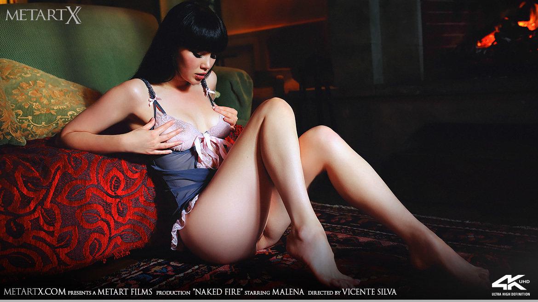 Video Porn Naked Fire - Malena MetArtX naked without a stitch medium tits