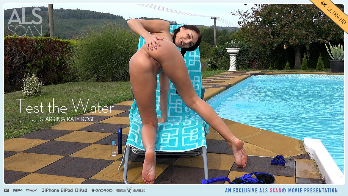 Video Porn Test the Water - Katy Rose AlsScan au naturel small tits