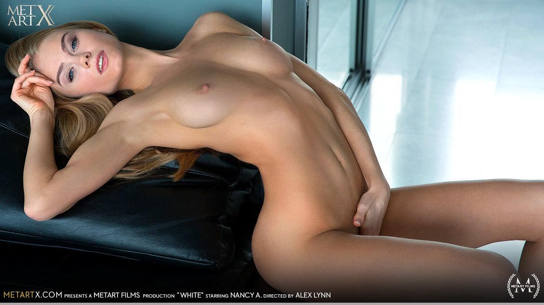Video Porn White - Nancy A MetArtX bare-skinned libidinous large breasts