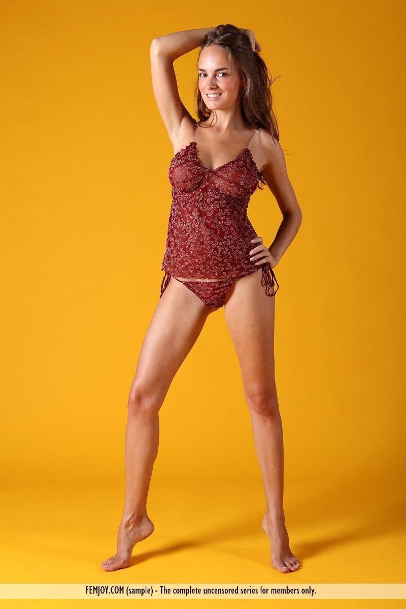 nice burgundy lingerie