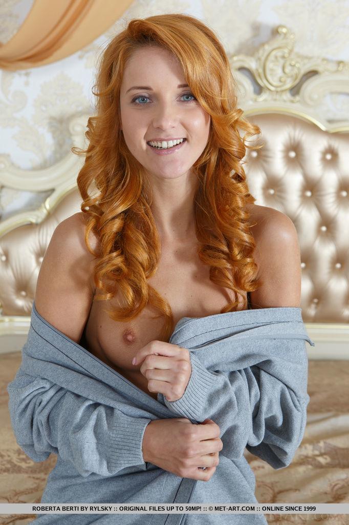 Roberta Berti has nice blonde red hair